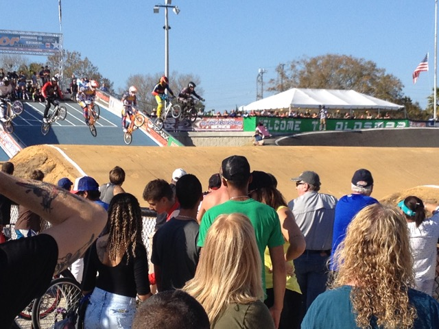 Gatornationals BMX Pros First Jump