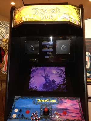 dragons lair video game