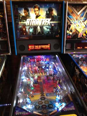 star trek pinball machine